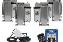 Sistema de auto-nivelamento eletrico da Linnepe para autocaravanas
