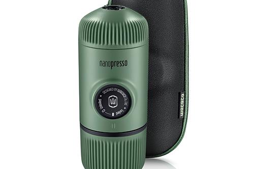 Máquina café Wacaco Nanopresso Modelo Moss Green