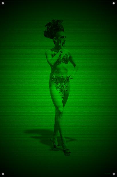 Black & Green (Shady) #8