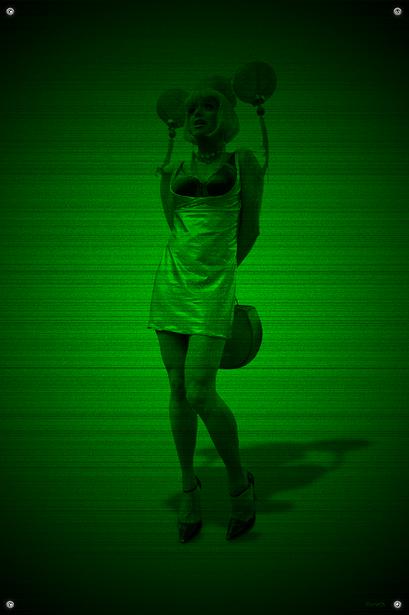 Black & Green (Asia) #4