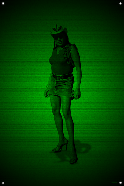 Black & Green (Chitah) #1