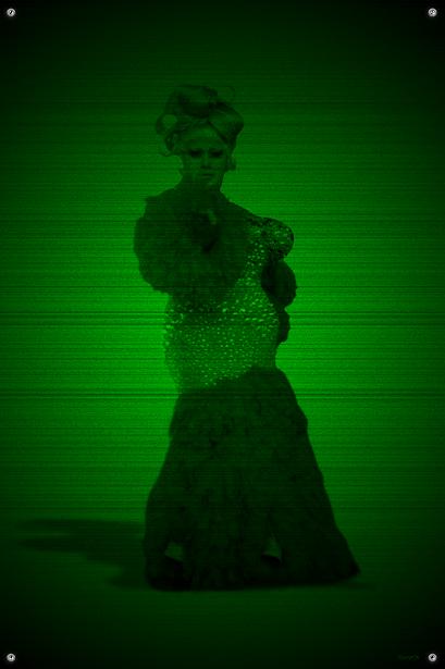 Black & Green (B'tch) #7