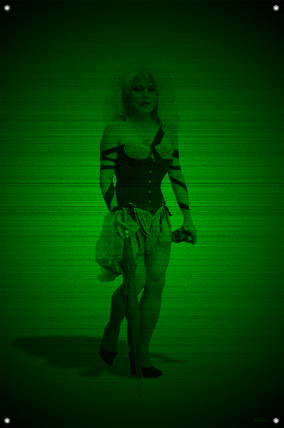 Black & Green (Gypsy) #19