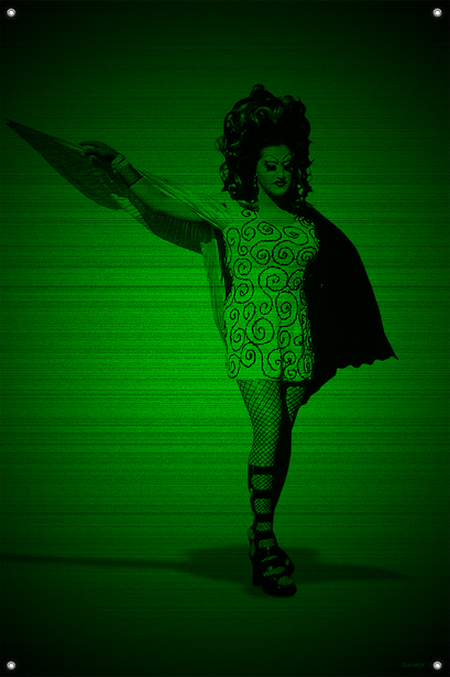 Black & Green (Angel) #10