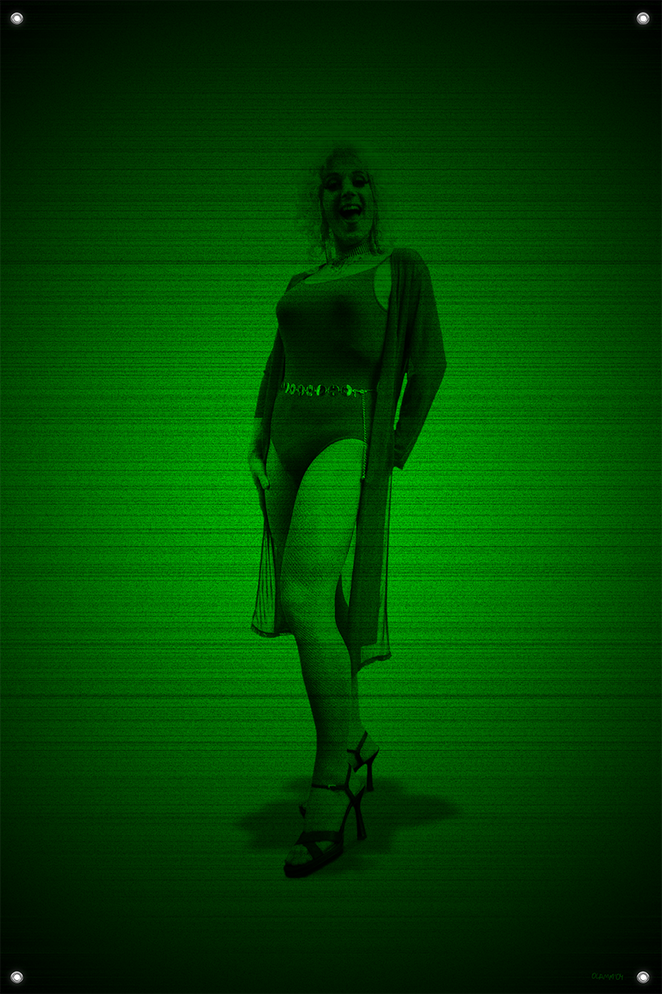 Black & Green (Marilyn) #14