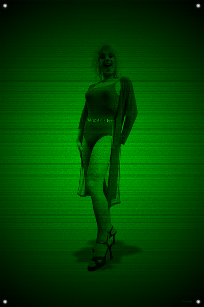 Black & Green (Marilyn) #14