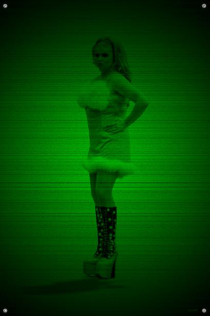 Black & Green (Candy) #17