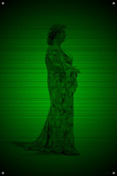 Black & Green (Empress) #3