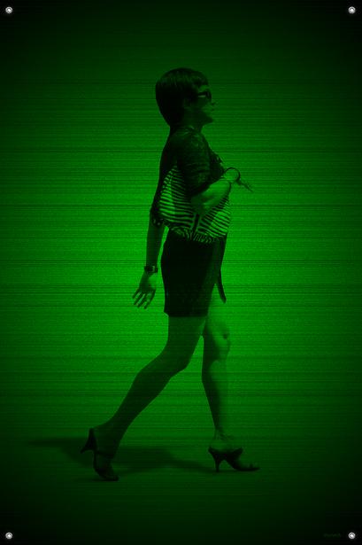 Black & Green (Jet) #5