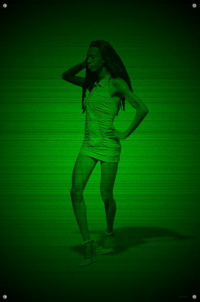 Black & Green (Ferocious) #18