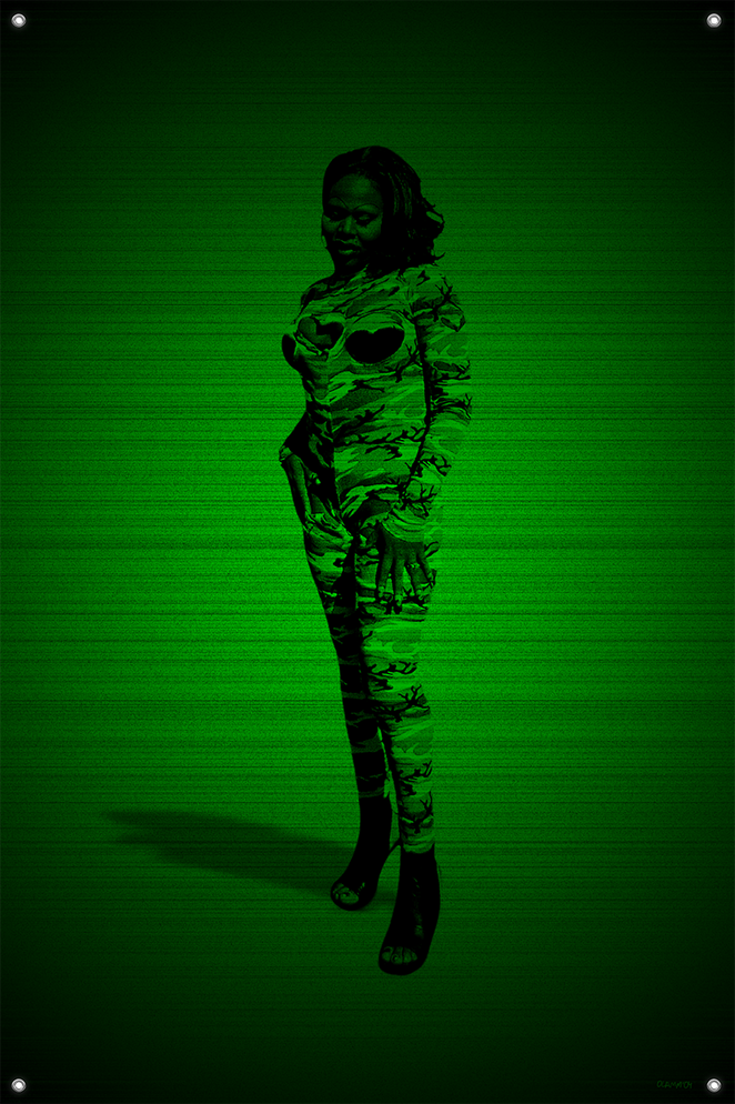 Black & Green (Soldier) #11
