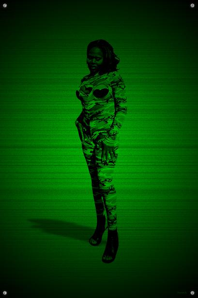 Black & Green (Soldier) #11