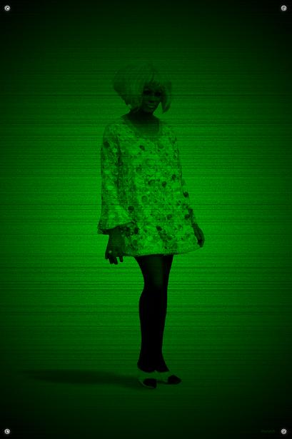 Black & Green (Sassy) #12