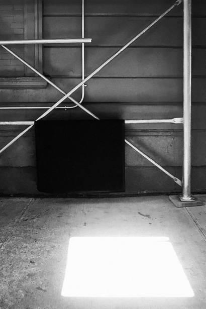 Enlightened Black Square #0