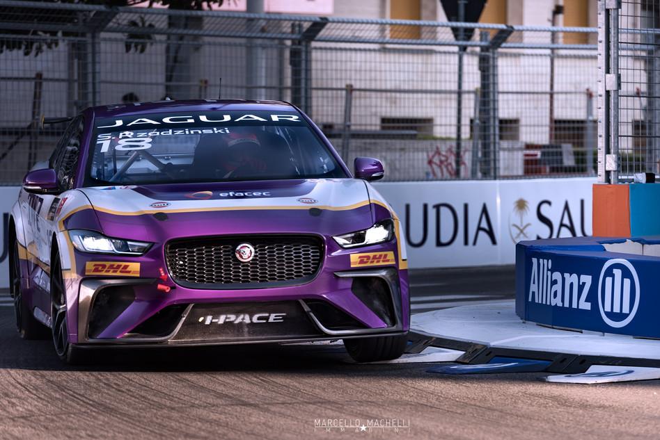 Stefan Rzadeskinki TWR Techeeta Jaguar e Pace