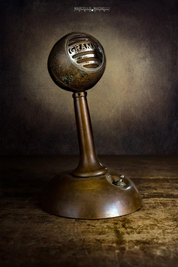 GRAMPIAN MICROPHONE RCA
