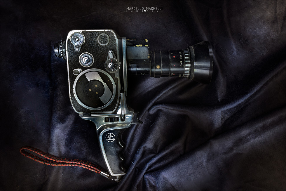 Paillard Bolex P2 Cine_Movie Camera