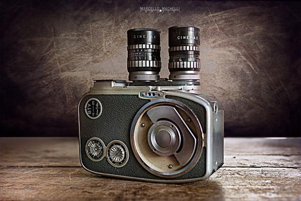 Cinemax 8TV - 8mm movie camera
