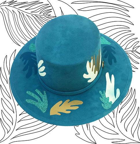Sea Blue Hat