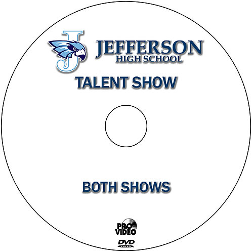 2019 Jefferson Talent Show - BOTH NIGHTS! DVD