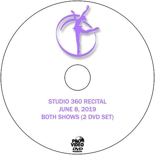 STUDIO 360 2019 RECITAL DVD - BOTH