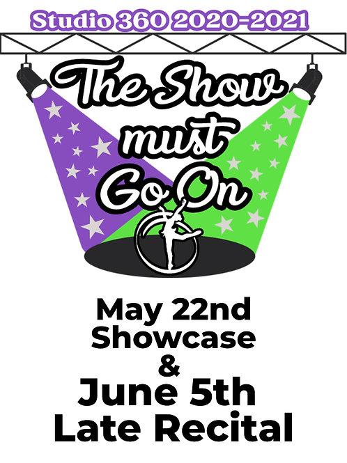 2021 Studio 360 Showcase & June 5th Late Recital DIGITAL CODE