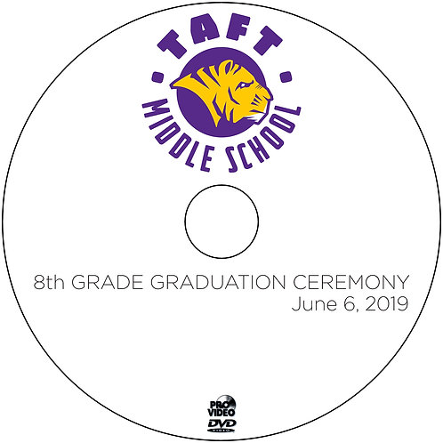 2019 Taft 8th Grade Graduation