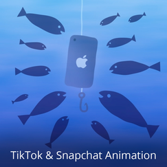 This is my vertical animation reel!  Snapchat Discover is like a daily magazine on Snapchat full of media rich content. I design and animate content for Mashable's presence on this ever-changing platform, while leading a small team of animators who do the same.  I also brainstorm and animate original content for Mashable's TikTok channel. It's a great outlet for my weirdest animation ideas. Many of these short videos are based on TikTok memes - I don't understand them half the time either.  I designed and animated everything in this reel, mostly using Photoshop and After Effects.  Music by Scott Ampleford