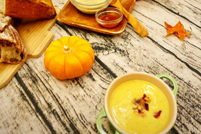 豐富層次回味無窮的「南瓜濃湯」