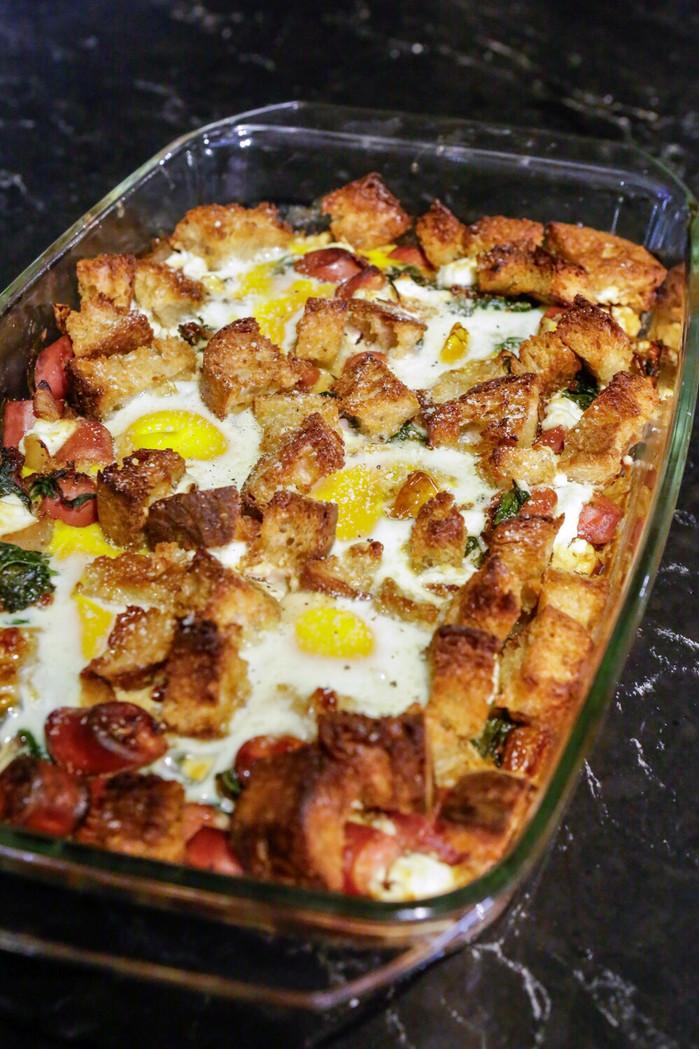 週末來份簡單又美味的早餐焗烤