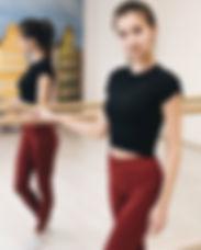 препдаватель боди балет