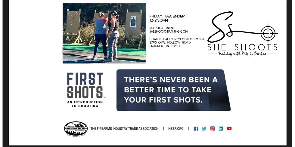 NSSF's First Shots Seminar for Ladies