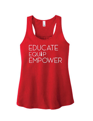 Educate - Equip - Empower Shirts