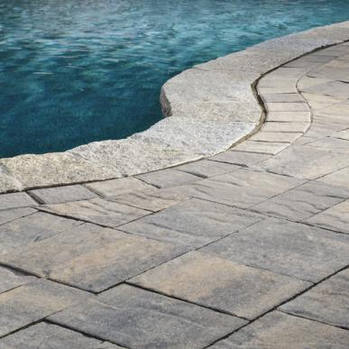 CATALINA™ SLATE pool deck by Belgard