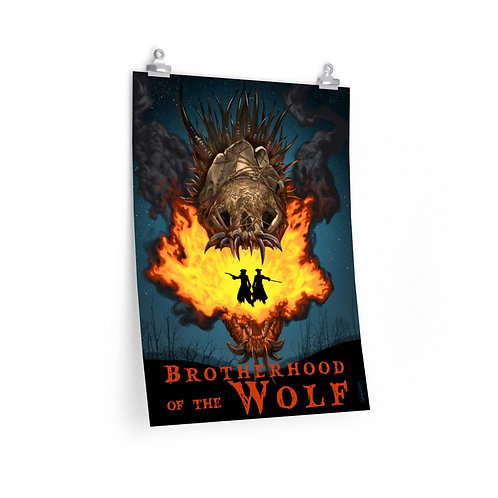 "Brotherhood of the Wolf — 18"" x 24"" Poster"