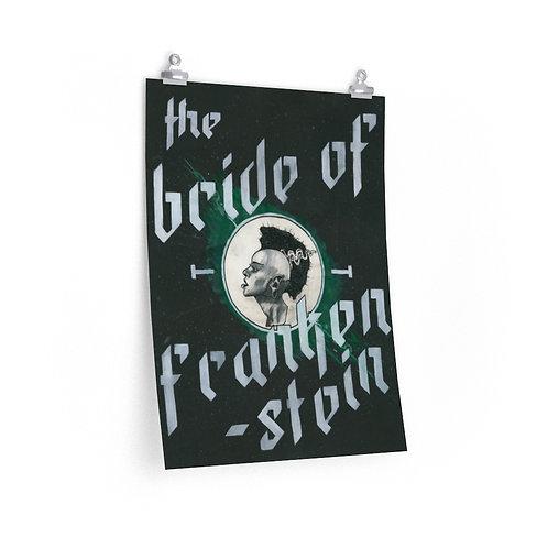"The Bride of Frankenstein — 18"" x 24"" Poster"