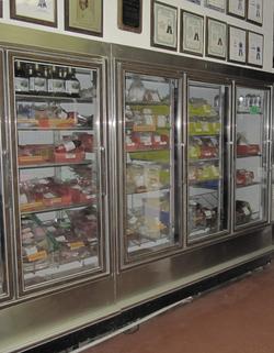 Interior of Butcher Shop