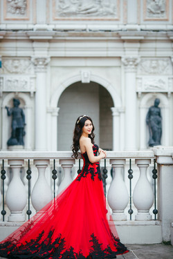 Inzpire Carly Red Gown