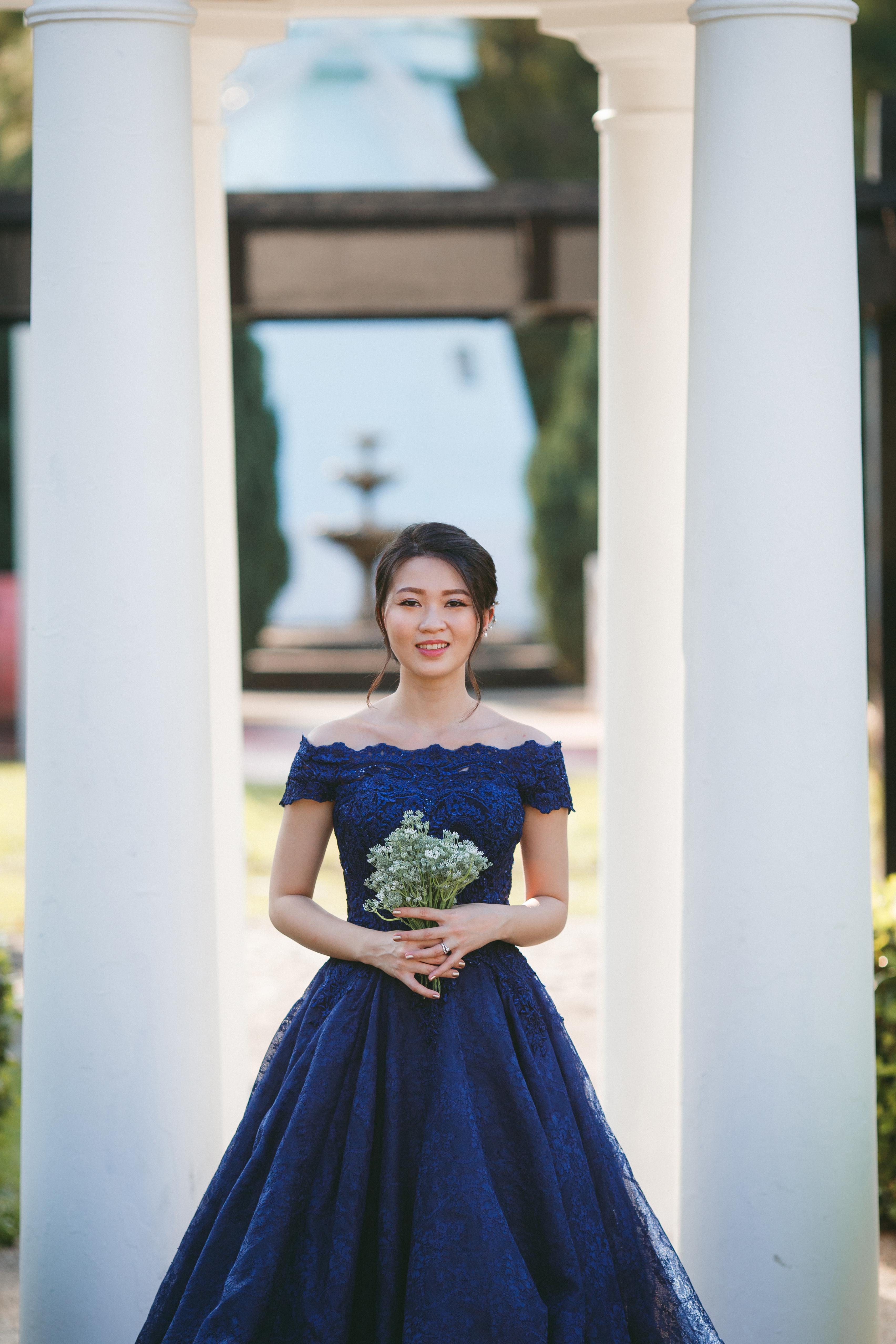 Inzpire Leslie Royal Blue Ballgown