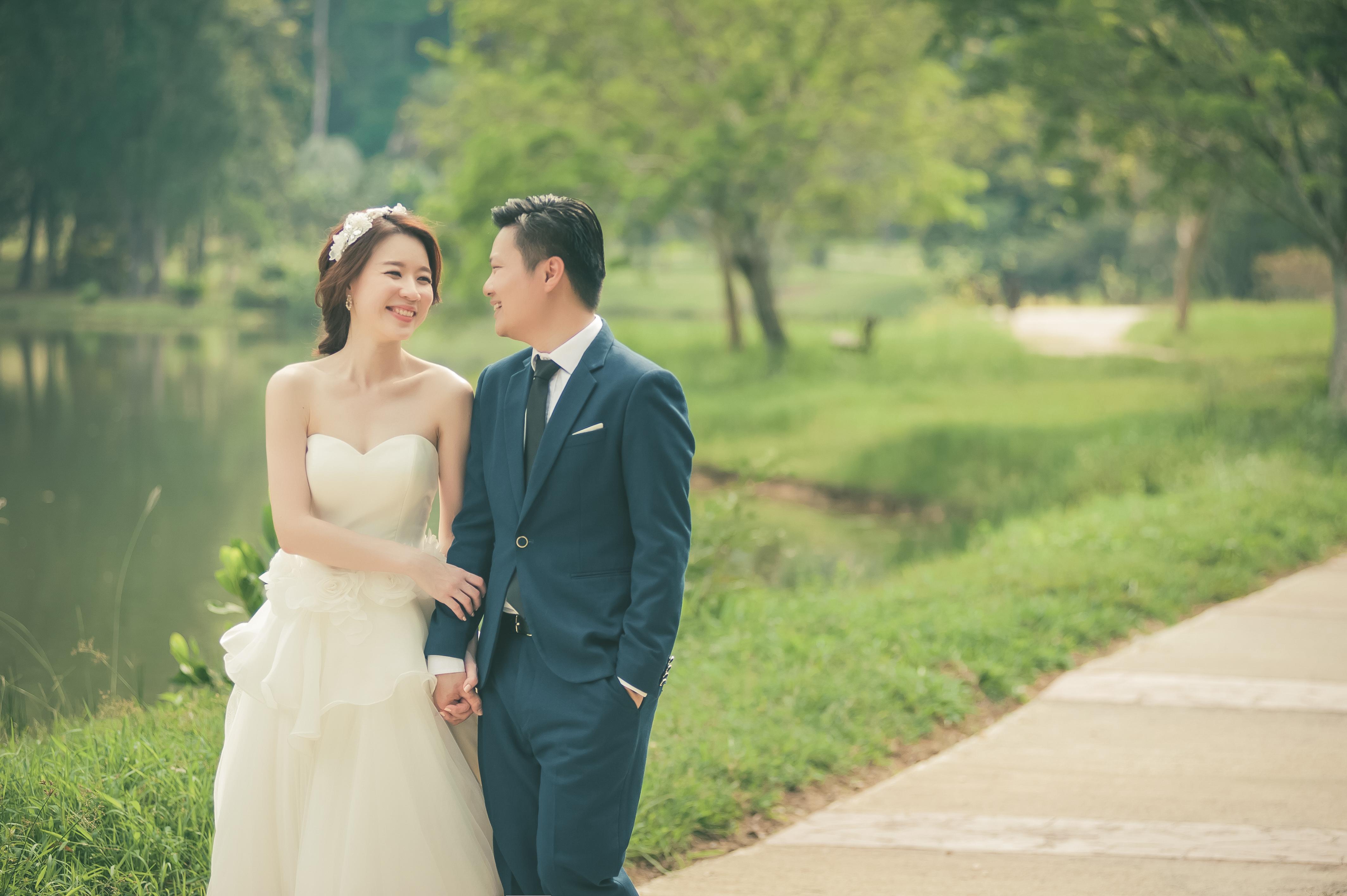Inzpire Wedding Gown Nature