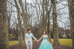 Inzpire Turquoise Ballgown