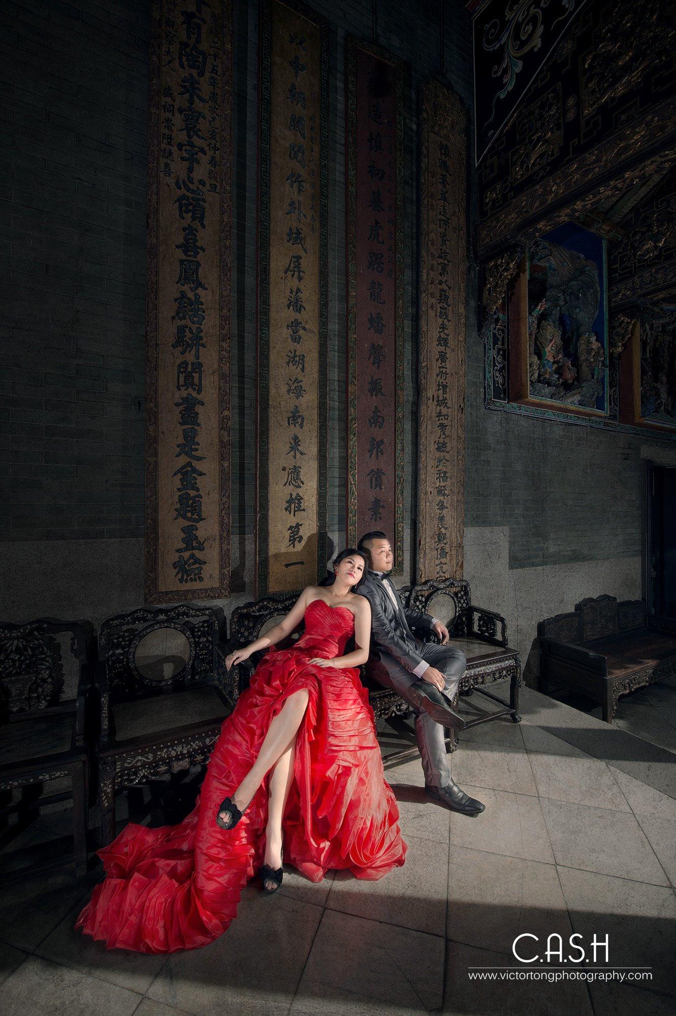 Inzpire Red Gown