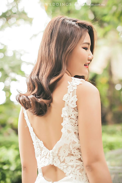 lace bareback simple boatneck low back rom bridal gown