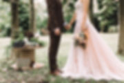 blush flair lace sweetheart wedding gown rustic and antique prewedding shoot
