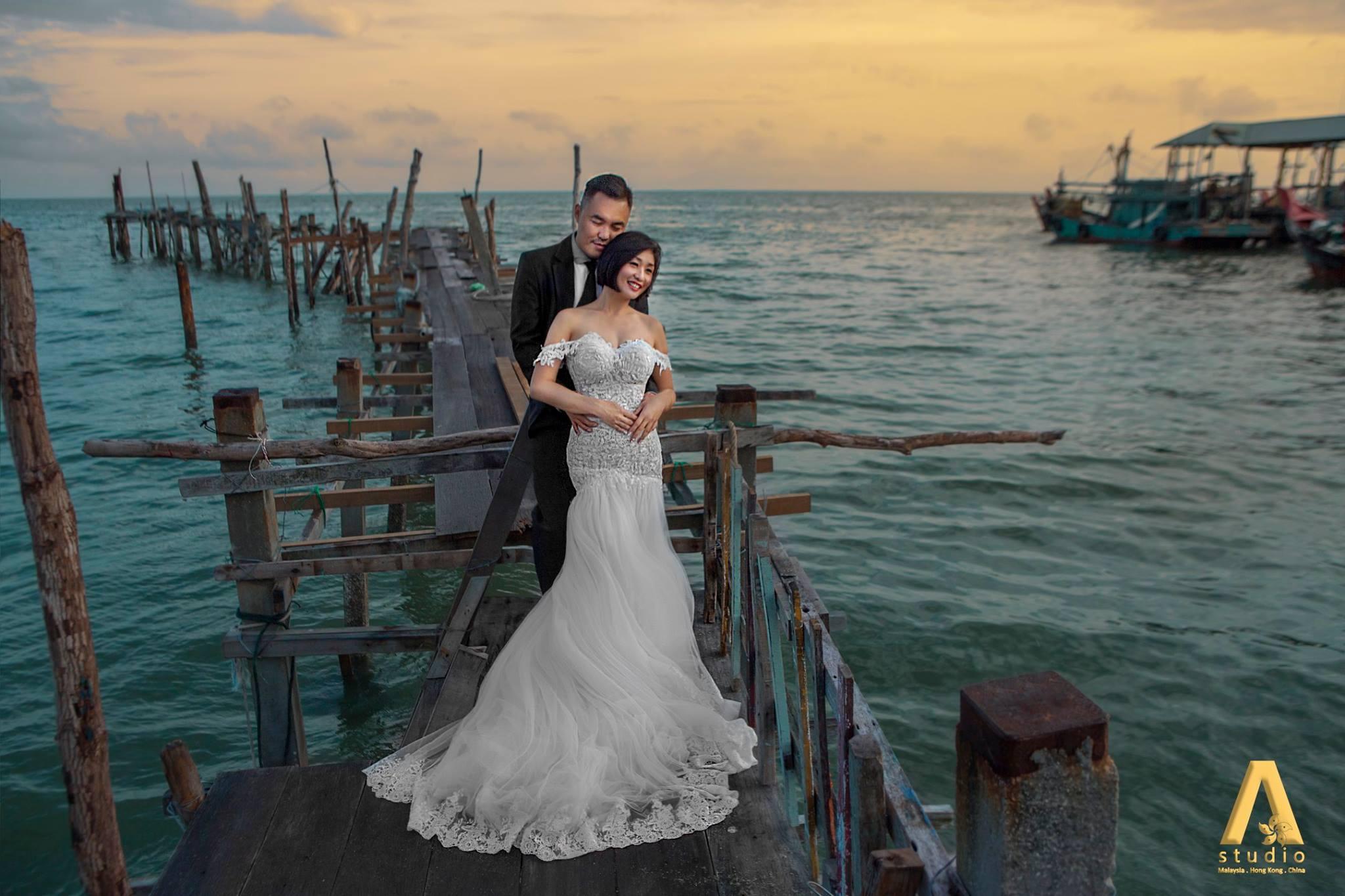 Inzpire Wedding Gown in Penang
