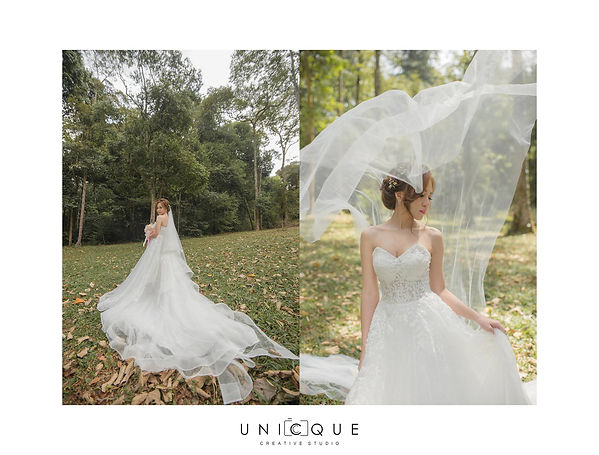 floral light ruffles romantic wedding dress suitable for nature garden forest greenery