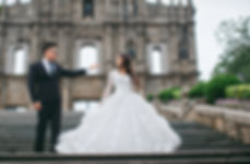 long sleeves bridal ballgown Macau