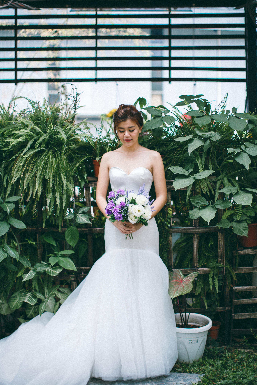 Inzpire Cecelia Mermaid Wedding Gown