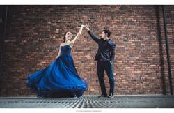 Inzpire Royal Blue gown