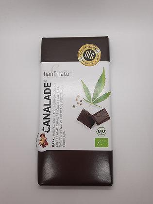 Hanfschokolade Dunkel